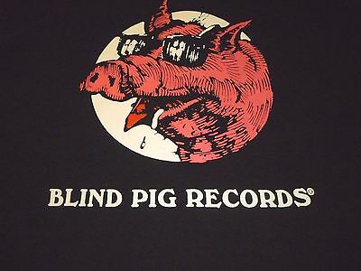 Blind Pig Records Shirt ( Used Size XL ) Very Good Condition!!!