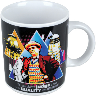 Doctor Who 7th Doctor Judge Mug