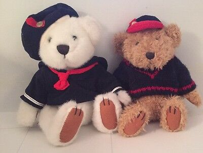 Handcrafted Fully Jointed Brass Button Premiere Collectable Bears