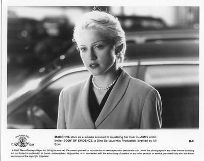 Madonna Original 8x10 photo promoting her movie Body of Evidence (sg128)