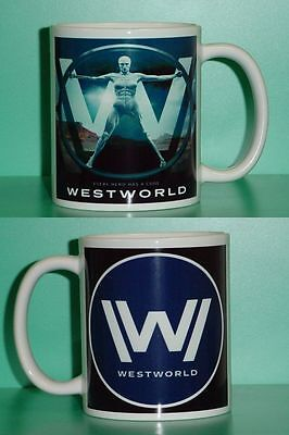 WESTWORLD - HBO - Evan Rachel Wood with 2 Photos - Designer Collectible GIFT Mug