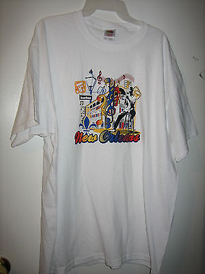 New Orleans Jazz Tee Shirt New W/o Tags Size Xlarge