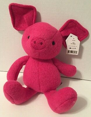 Jellycat Vivi Hot Pink Pig 6 Inches