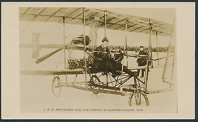 1910 Canadian Pioneer Aviator JAD MacCurdy Photo
