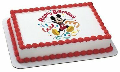 MICKEY Mouse Clubhouse Streamers Edible Cake Topper for 14 sheet