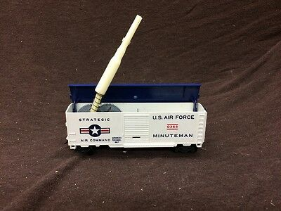 Lionel 0365 HO Scale U.S.A.F. Minuteman Missile Launching Operating Box Car **