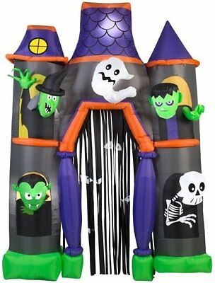Halloween Inflatable Archway Haunted House