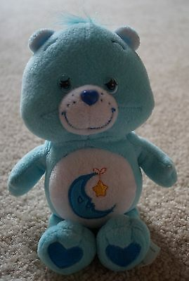 CARE BEARS BEDTIME bear star moon excellent collectible