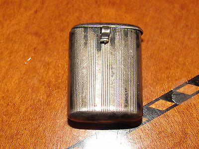 Great Antique Napier Sterling Silver Pill Or Snuff Box