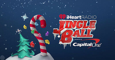Two Sec 1 Tickets to Chicago's iHeart Jingle Ball on Dec 14th at Allstate Arena