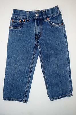 Toddler Boy LEVI'S 526 Relaxed Fit  Denim JEANS~Sz 2T ~NICE!!