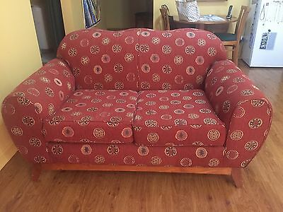 3 Piece Lounge Suite - 1 X 2 Seater, 2 X Arm Chairs