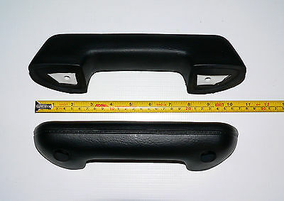 A set of Two Replacement Armrests Black Interior Color