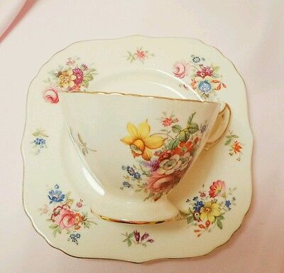 Hammersley and co vintage Teacup and Side plate England