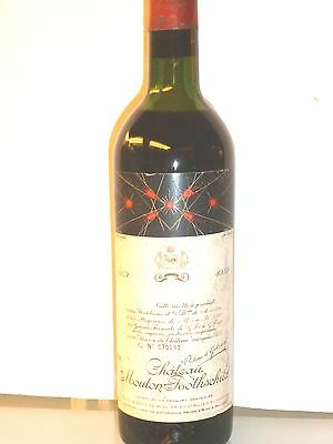 1 bt. Chateau Mouton Rothschild 1959 R. Parker 100/100 point- bottiglia perfetta