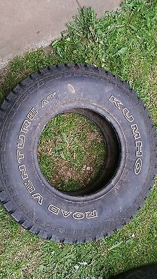 2x 4wd all terrain tyres 31x10.50x15