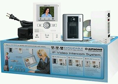 Aiphone JKS-IPED Hands-Free Color Video Intercom over IP Adapter Set