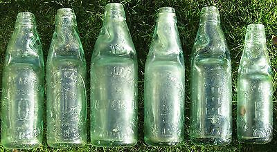 Victorian Vintage Antique CODD Bottles - freshly dug - rare and beautiful