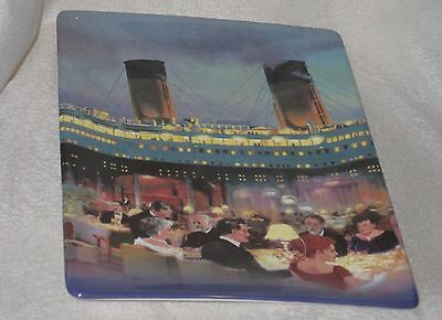 Bradford Exchange Collectable Titanic Ship of Dreams Porcelain Plate 2nd Issue