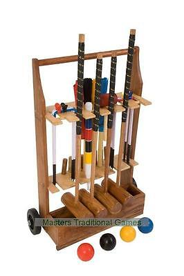 Uber Pro Croquet Set with a stand