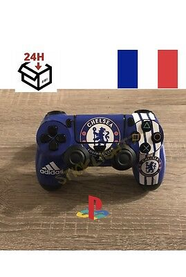skin stickers manette chelsea console ps4