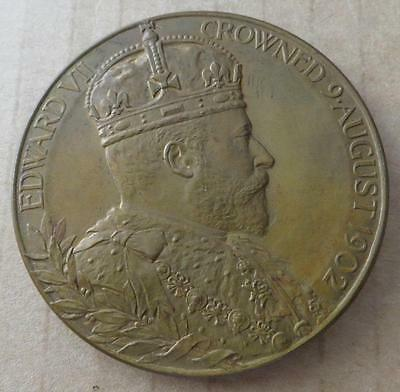 1902 Edward VII Coronation Medal in case of issue. JO-202