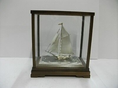 The sailboat of silver960 of the most wonderful Japan. TAKEHIKO's work.