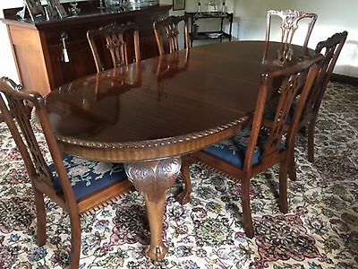 Chippendale Style Table&chairs