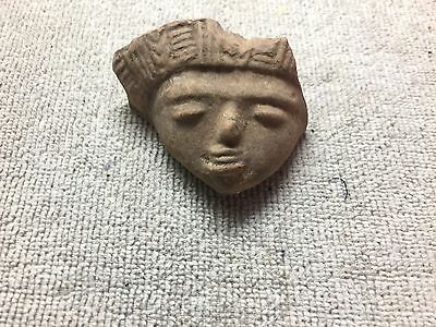 Pre-Columbian Female Pottery Figure