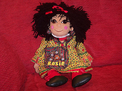 Rosie Rag Doll With Her Bag - 18 inch