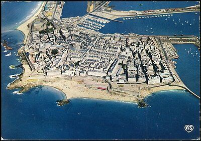 Aerial View - - Saint-Malo - France- General View