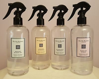 PECKSNIFF'S for 'Olivia Blake' Scented Linen Spray, 500ml, RRP £20, Choose Scent