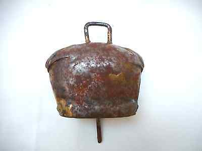 Antique Rare  Iron Sheep or Steers Bell