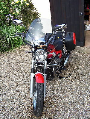 2008 Moto Guzzi Nevada 750 motorcycle in  Red