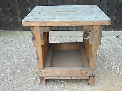 Vintage Industrial Table,Vintage/Retro,Table,Great Look,Vintage Stool.