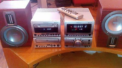 Grundig UMS 17 MD FINE ARTS MINI DISC PLAYER, CD PLAYER, FM TUNER & SPEAKERS