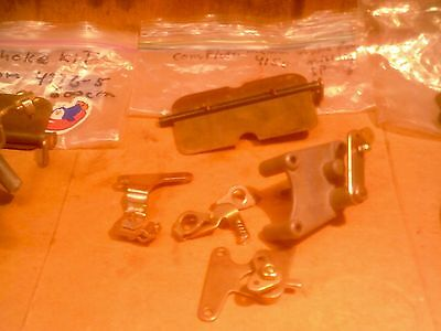 3 sets of holley choke kits,2-manual,and 1- electric for double pumper,4150s,416