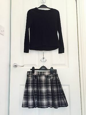 Girls Next Skirt And George Top Set Age 9