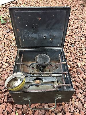 Vintage Military Army Field - Cookers Portable No2 - Petrol Camping Stove