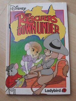 LADYBIRD BOOK -The Rescuers Down Under -  Walt Disney (Hardback, 1991)