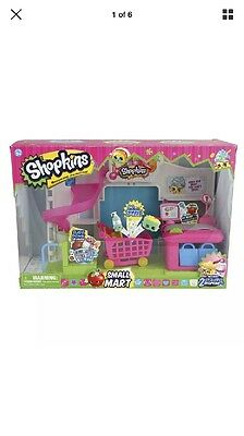 Shopkins Mart Supermarket Playset Brand New  In Box.