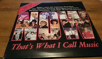 Now thats what i call music 1 vinyl record/album