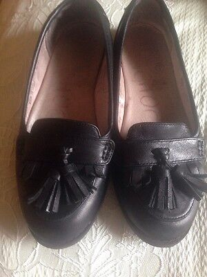 Girls Leather Black Next Shoes Size 13
