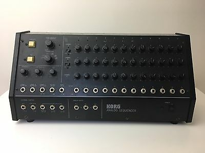 KORG SQ10* Analog Sequencer* PRO SERVICED* Vintage Synth* MS10 MS20 MS50