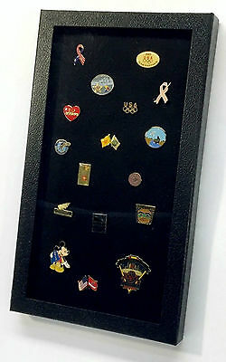Pin Collection Display Case Box Organizer for Collectible Collector Pins Medals