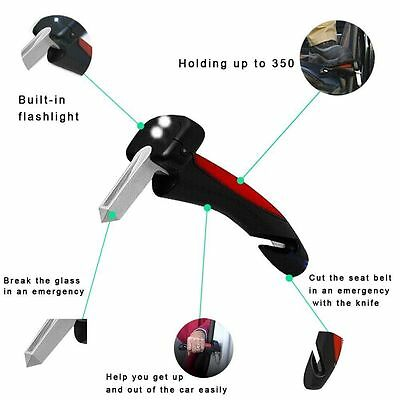 Car Handle/Kane/Cain Mobility Standing Aid Torch/Seatbelt Cutter/Glass Breaker