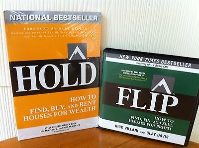 Gary Keller's  Flip & Hold Real Estate Investing Audio Book Package! - 15 Cd's!