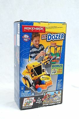 Rokenbok System RC Dozer with Recycle Center #04273 - 100% Complete with Box