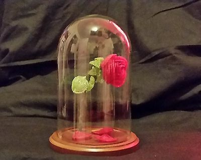 Beauty and the Beast style beaded rose