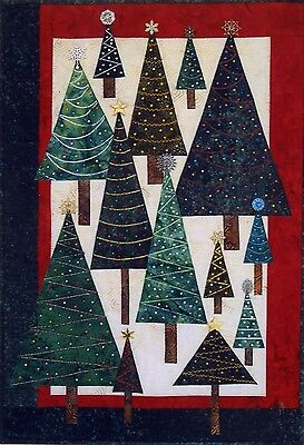 CHRISTMAS GLITTER QUILT PATTERN, From Dandelion Seeds Designs NEW